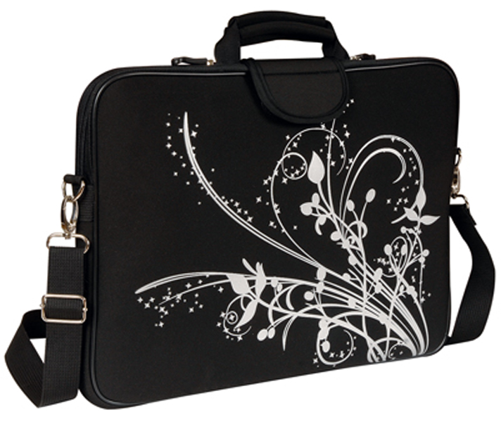 "Fuji Style 15.4"" Laptop Sleeve with Handle and Shoulder Strap -"