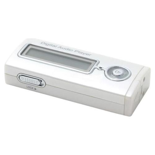 AMC Pearl White 256MB USB MP3 Player Model M3240PW