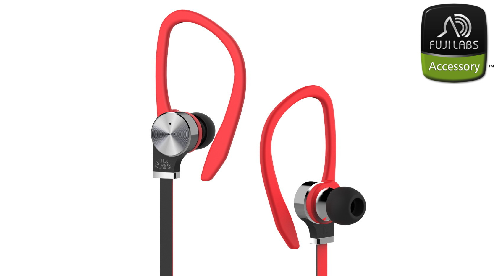 SQ306 BE In-Ear Headphones w/Mic Red