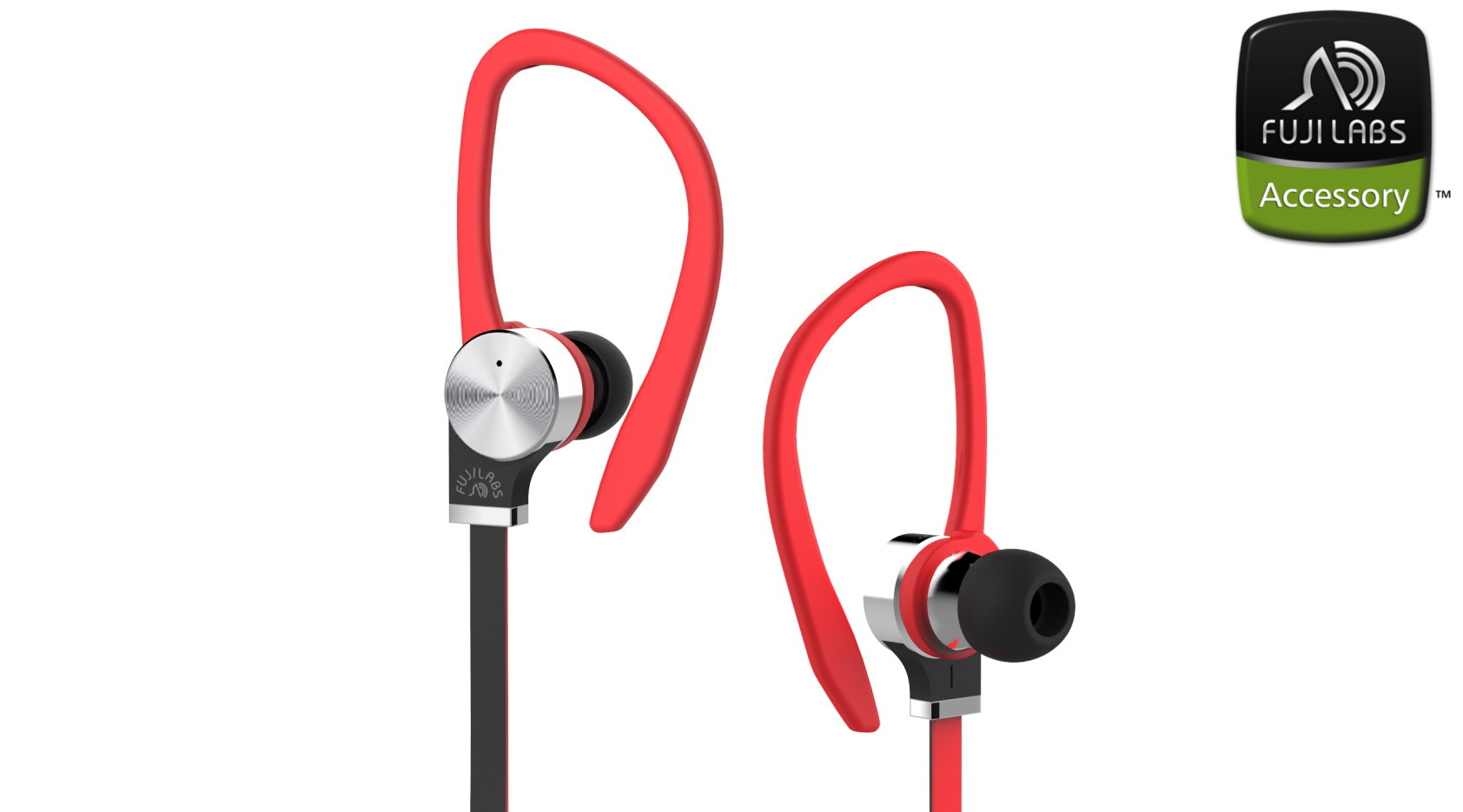SQ306 TI In-Ear Headphones w/Mic Red