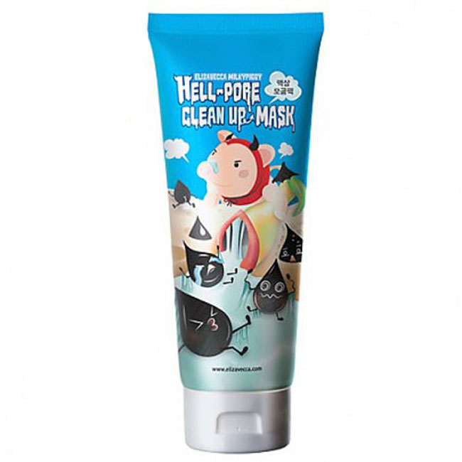 [Elizavecca] hell pore clean up mask