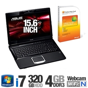 Asus G51JX-X2 Notebook PC