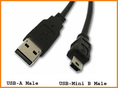 "AMC 20"" USB to Mini USB Cable"