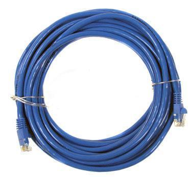 Fuji Labs CC6-B50B50 ft. Cat 6 Blue Network Cable