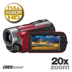 Canon VIXIA HF R10 4389B001 Dual Flash Memory HD Camcorder, Red