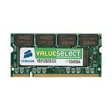 Corsair 512MB PC3200 200P SODIMM DDR