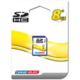 Dane-Elec DA-SD-8192-R SDHC Card - 8GB, Class 4