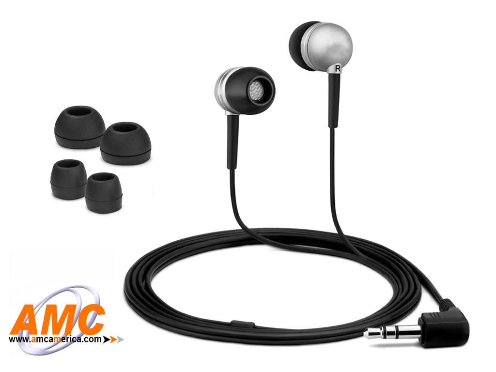 AMC Silver Acoustic Isolation Silicone Earbud-OEM