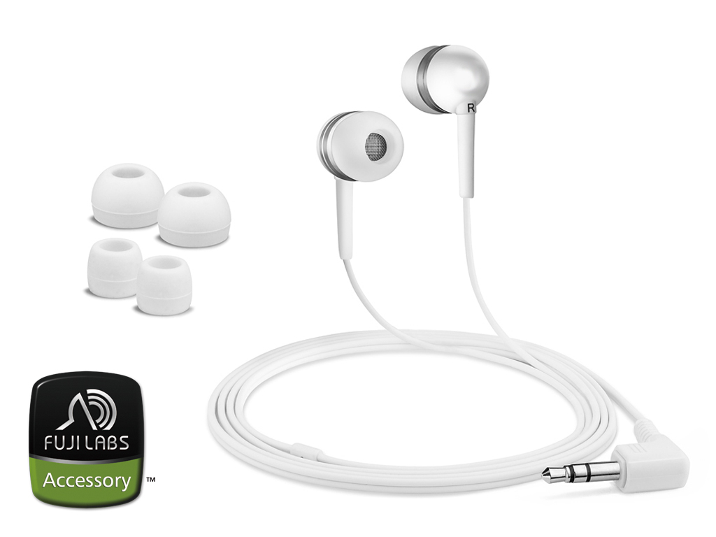 Fuji Labs White Acoustic Isolation Silicone Earbud