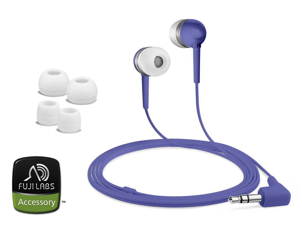 Fuji Labs Purple Acoustic Isolation Silicone Earbud