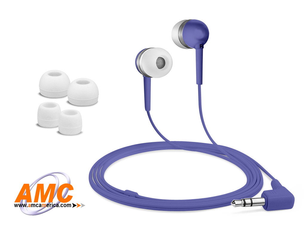 AMC Purple Acoustic Isolation Silicone Earbud-OEM