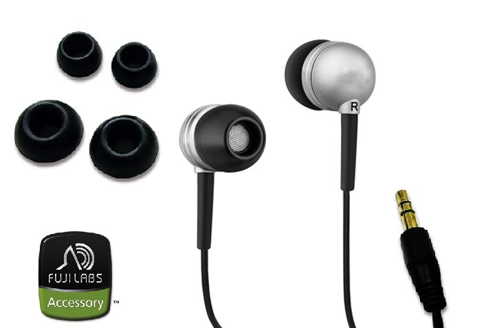 Fuji Labs Silicon Earbuds Headphones (Pack of 2)