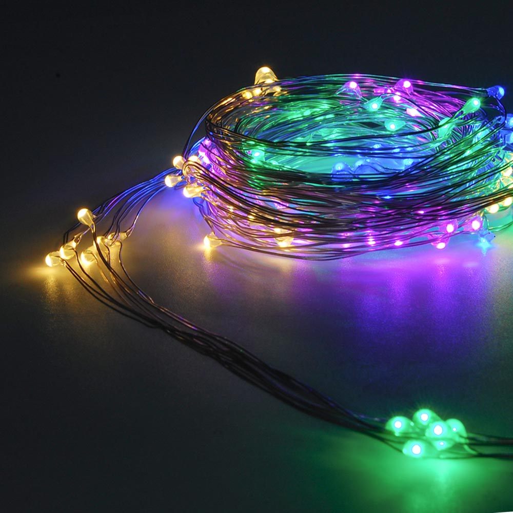 120L Mini LED 2-Meter 6-Strip Multi-Color Multi-Mode String Ligh