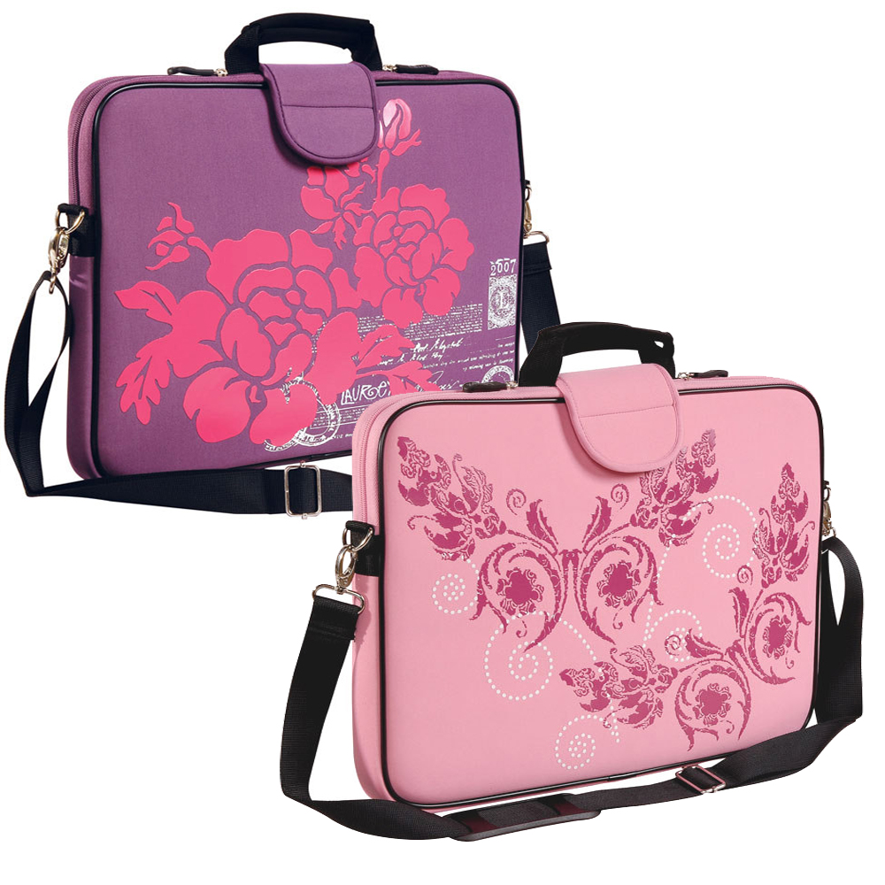 "15.6"" Screen Size Laptop Sleeve, Purple and Pink"