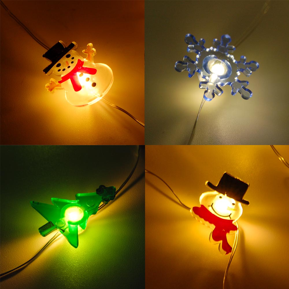 Fuji Labs 20L Mini LED X'Mas String Light Assort (6-Pack) Batter