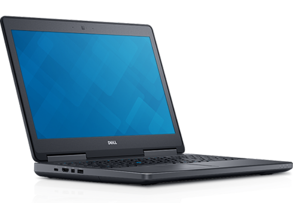 DELL Precision 7510 - Processor: IntelR XeonR E3-1505M v5 Quad