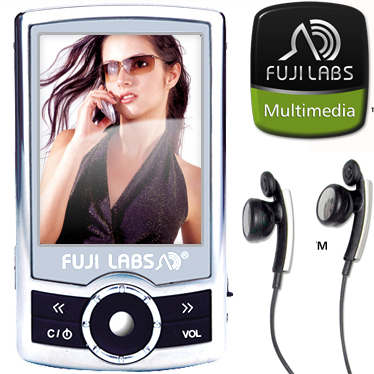 Fuji Labs E3220 2.4-inch 4GB MP3/ 4 Player Bundle