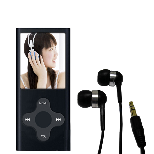 Fuji Labs 1.8 inch LCD Full Color 2GB MP3/4 Player Earbud Bundle