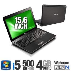 MSI S6000-017US 9S7-16D312-017 Notebook PC
