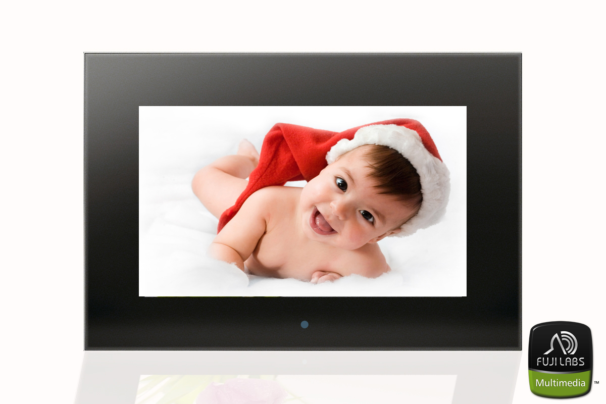 Fuji Labs 10in High-Res Digital Photo/Movie Frame With Free 2G M