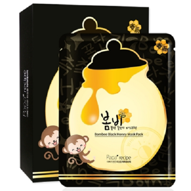 [Papa recipe] Bombee black Honey mask (10ea)