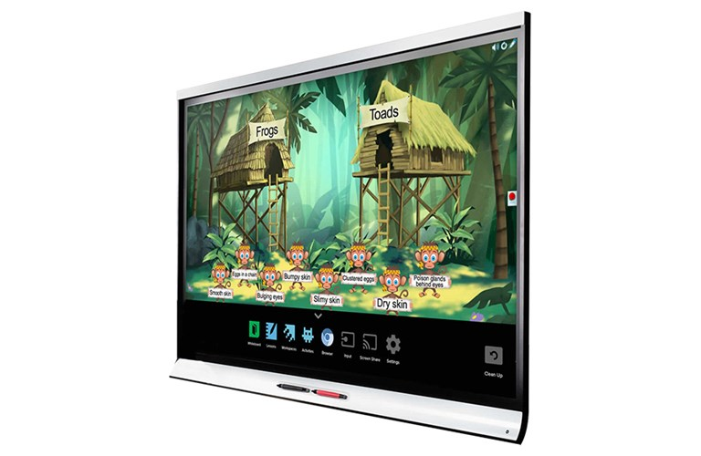 SMART Board 6065-V2 interactive flat panel with iQ