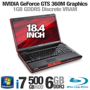 Toshiba Qosmio X505-Q890 PQX33U-03J01R Notebook PC
