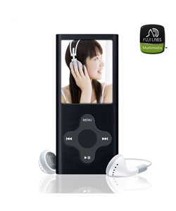 Fuji Labs 1 GB Aluminium Black MP3/ MP4 Player