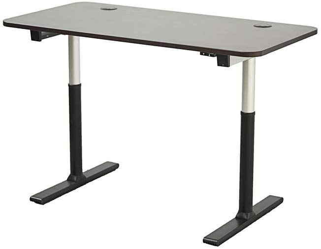 "Fuji Labs by Apex Electric Standing Desk (60"" Espresso Top)"