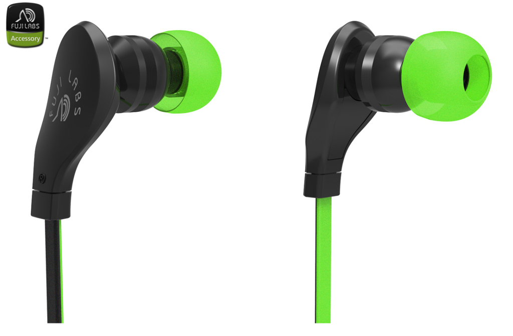 SQ203 In-Ear Headphones Green
