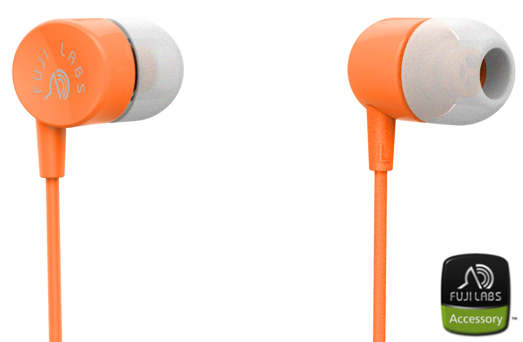SQ101 In-Ear Headphones Orange
