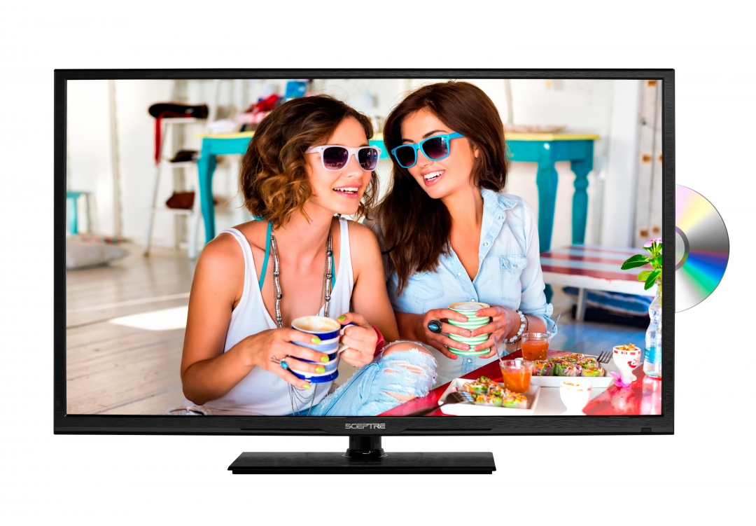 "Sceptre 40"" LED 1080P HDTV TV/DVD Combo"