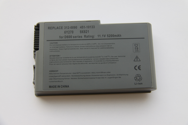 Brand new Dell Notebook replacement battery D500